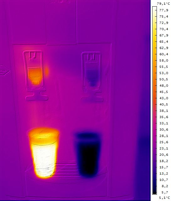 water-dispenser-thermal-image