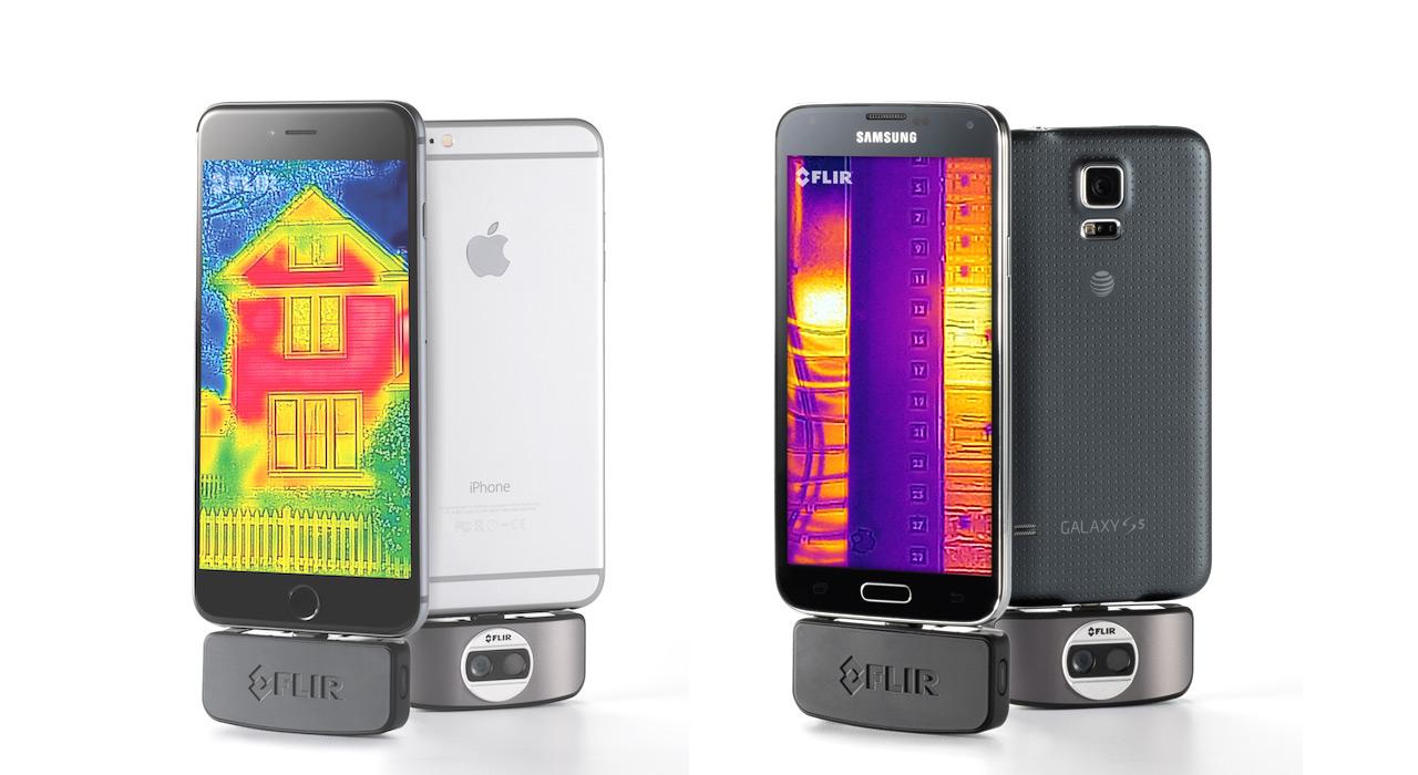 Thermal camera iphone