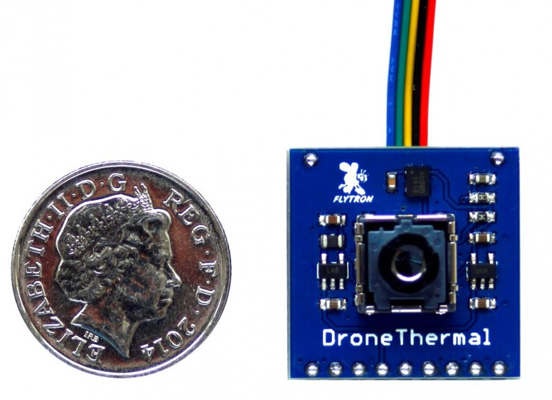 FLIR Lepton drone camera - Thermal Imaging Blog